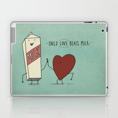 only love beats milk Laptop & iPad Skin