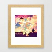 Unravelling Framed Art Print