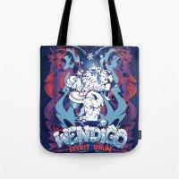 WENDIGO Spirit Drum Tote Bag