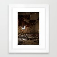 The Great Teardown  Framed Art Print