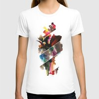 color study 2 Womens Fitted Tee White SMALL