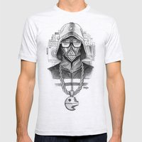 Def Vader Mens Fitted Tee Ash Grey SMALL