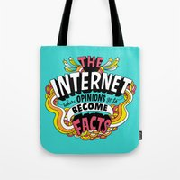 The Internet. Tote Bag
