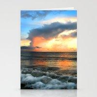 Madeira Beach Sunset 2 Stationery Cards