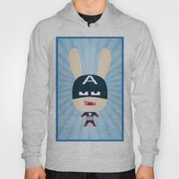 We Are All Rabbits \ Cap… Hoody