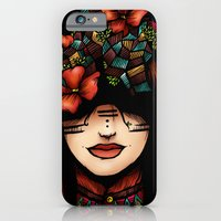 The Girl Who Was Thinkin… iPhone 6 Slim Case