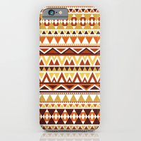 iPhone & iPod Case featuring Aztec 1 by Dianne Delahunty