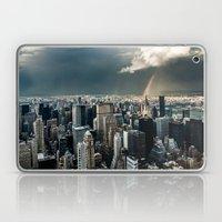 Great Skies Over Manhatt… Laptop & iPad Skin