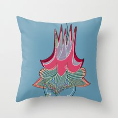 sweet columbine Throw Pillow