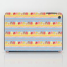 Beach Huts iPad Case