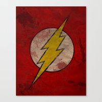 Remember The Flash Canvas Print
