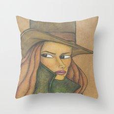 Undercover Throw Pillow