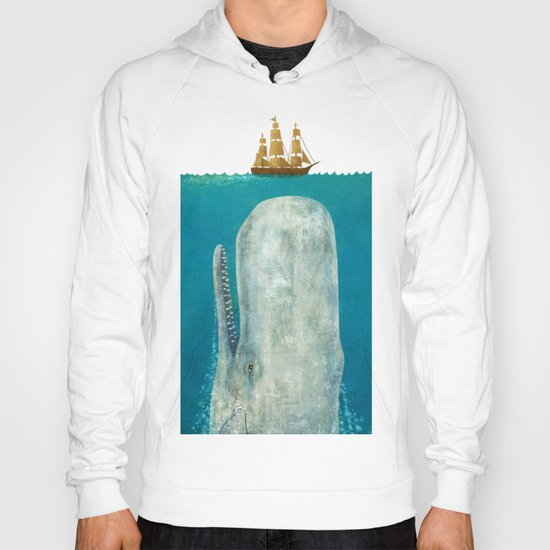 The Whale - square format Hoody