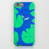 iPhone & iPod Case featuring Lily Pond by Pink Pagoda Studio / Barbara Perrine Chu