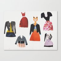 What shall I wear today? Canvas Print