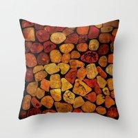 Secret of Amber  Throw Pillow