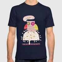 Twitawoo Mens Fitted Tee Navy SMALL
