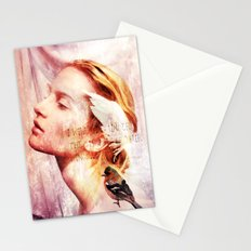 I will sing under the shadow of Your wings Stationery Cards