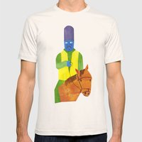 There Was An Old Man Of … Mens Fitted Tee Natural SMALL