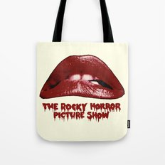 Rocky Horror Picture Show Lips Logo Tote Bag