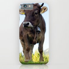 Cow on the pasture iPhone 6s Slim Case
