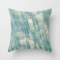 Acid Rain Throw Pillow