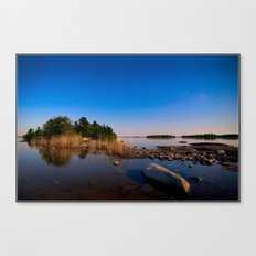 Star Lit Rocks Canvas Print