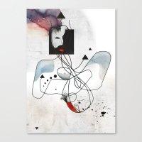 Advanced Indigo   Canvas Print