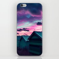 Infrared Sunset iPhone & iPod Skin