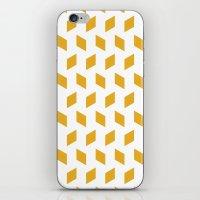 Rhombus Bomb In Mimosa iPhone & iPod Skin