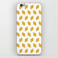 Rhombus Bomb In Mimosa iPhone & iPod Skin