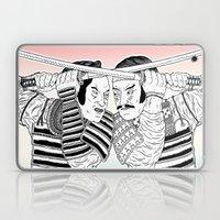 Samurai Duel Laptop & iPad Skin