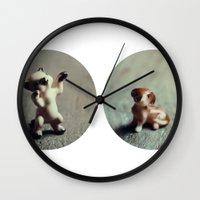 Cats & Dogs Wall Clock