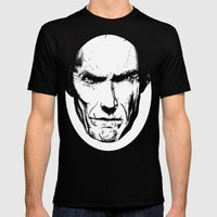 Clint Eastwood Mens Fitted Tee Black SMALL