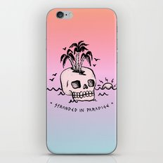 STRANDED IN PARADISE iPhone & iPod Skin