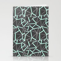 Ab 2 Repeat Mint Stationery Cards