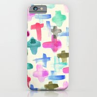 iPhone & iPod Case featuring Pluses by Crystal ★ Walen