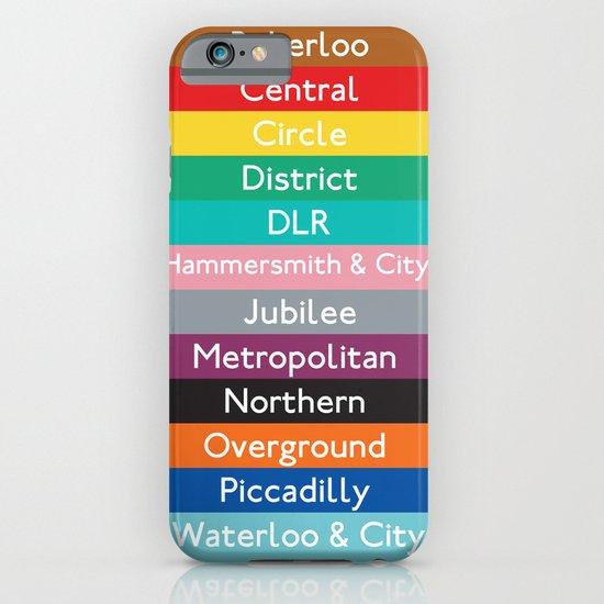 London Underground iPhone & iPod Case