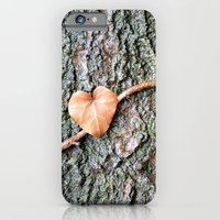 iPhone & iPod Case featuring Heart and tree by Marieken