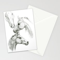 Horses sketch SK036 Stationery Cards