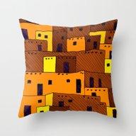 Pueblo Throw Pillow