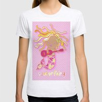 Water Fairy Mermaid Womens Fitted Tee Ash Grey SMALL
