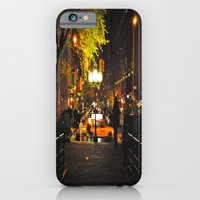 iPhone & iPod Case featuring Nocturnal Union Square by Joëlle Tahindro