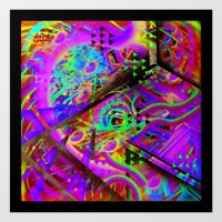 ORION WORMS Art Print