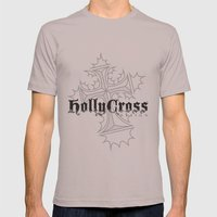 Hollycross Logo Mens Fitted Tee Cinder SMALL
