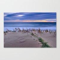 Windy sunset. Sea dreams.... Canvas Print