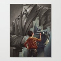 Out With The Old, In Wit… Canvas Print