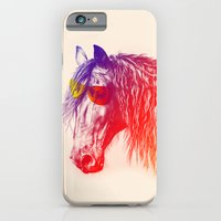 iPhone & iPod Case featuring horse  by mark ashkenazi