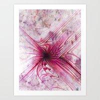 Distant Nebula Art Print