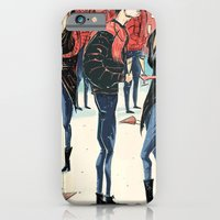 iPhone & iPod Case featuring Hipster Party by Jeff Szuc